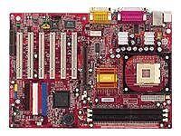 MSI Mainboards mit AGP Erweiterungssteckplätzen für Intel