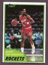 Topps Houston Rockets Original Single Basketball Cards
