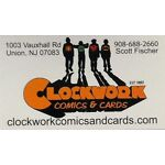 Clockwork Comics and Cards