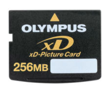 XD-Picture Card Speicherkarten mit 256MB
