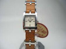 Polierte Armbanduhren aus Silber für Damen
