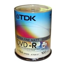 TDK 4.7GB Blank DVD-R Discs in Computers