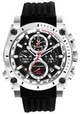 Runde Quarz-(Batterie) Armbanduhren aus Edelstahl mit Chronograph