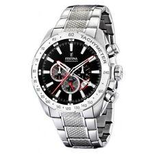 Festina Armbanduhren aus Edelstahl mit 12-Stunden-Zifferblatt