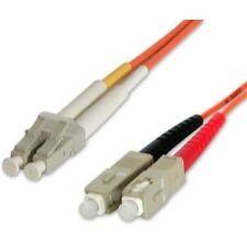 Câbles monomodes à fibre optique LC avec un connecteur SC