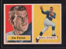 Rookie New York Giants Original Single Football Cards