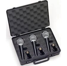 Handheld/Stand-Held Supercardioid Pro Audio Microphones