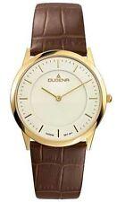 Runde Dugena Armbanduhren mit 12-Stunden-Zifferblatt und Glanz