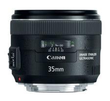 Canon EF-Anschluss und 35mm Brennweite