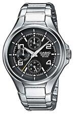 Runde polierte Casio Armbanduhren mit Datumsanzeige