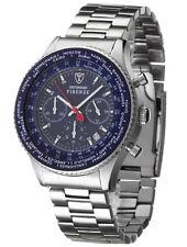 Runde Armbanduhren mit Chronograph für Herren
