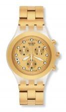 Sportliche Swatch Armbanduhren mit Datumsanzeige für Damen