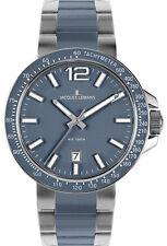 Jacques Lemans Armbanduhren mit Glanz-Finish und Datumsanzeige für Erwachsene