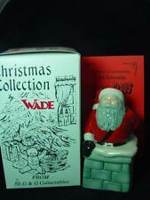 """WADE SANTA CLAUS FATHER CHRISTMAS IN CHIMNEY 5"""" TALL 1997 Ltd ed 1000 RARE MINT"""