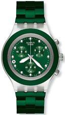 Aluminium Swatch Armbanduhren mit Chronograph