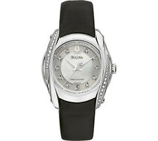 Bulova Women's Stainless Steel Case Casual Watches