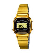 Digitale Quarz-Armbanduhren in Gold