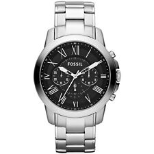 Fossil Armbanduhren mit Edelstahl-Armband und Chronograph