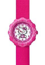 Swatch Armbanduhren mit Textilgewebe-Armband für Damen