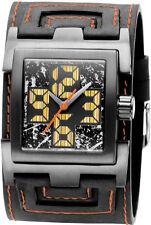 Quadratische Armbanduhren in Braun