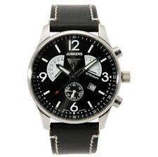 Junkers Armbanduhren im Flieger-Stil mit 12-Stunden-Zifferblatt