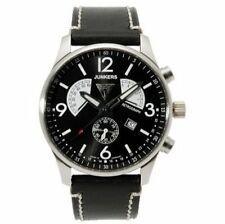 Quarz - (Batterie) Armbanduhren im Flieger-Stil mit Chronograph