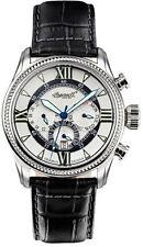 Analoge elegante Armbanduhren aus Silber