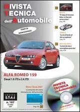 Schede e prove auto manutenzione ordinaria per Alfa Romeo