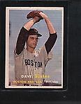 Topps Boston Red Sox Post-WWII (1942-1980) Baseball Cards