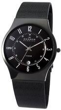 Skagen Armbanduhren mit Datumsanzeige und gebürstetem Finish