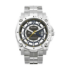 Bulova Stainless Steel Band Men's Analogue Wristwatches