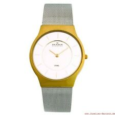30 m (3 ATM) wasserbeständige Armbanduhren mit Gelbgold für Herren