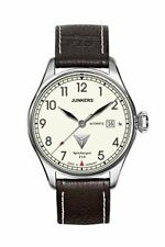 Polierte Mechanisch-(Automatisch) Armbanduhren im Luxus-Stil mit Datumsanzeige