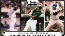 Topps David Ortiz Boston Red Sox Single Baseball Cards