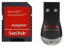Lecteur-clé USB de carte mémoire pour ordinateur MicroSD