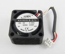 1pc ADDA Dual Ball Bearing AD2005LB-G73 5V 0.08A 20mm x20x 10mm Notebook DC Fan