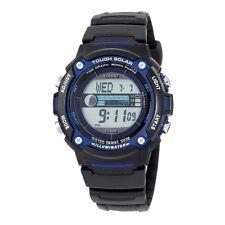 Digitale Quarz-Armbanduhren in Blau