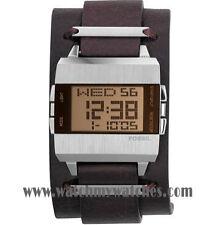 Digitale polierte quadratische Armbanduhren