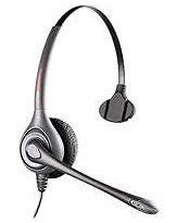 Plantronics Computer-Headsets mit Kopfbügel für Ohrhörer