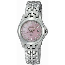 Stainless Steel Band Women's 100 m (10 ATM) Wristwatches