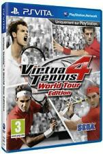 Sony Tennis Video Games with Manual