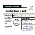 Baseball Cards of Brick