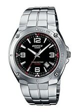 Sportliche Runde Casio Edifice Armbanduhren aus Edelstahl