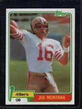 Joe Montana Rookie Football Cards For Sale Ebay
