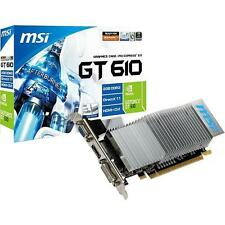 MSI Grafik- & Videokarten mit PCI Express x16 Anschluss und 2GB Speichergröße