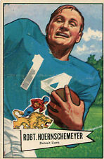 Bowman Vintage (Pre-1970) Football Trading Cards