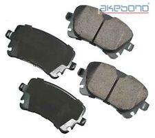 Akebono EUR1018 Rear Ceramic Brake Pads