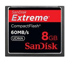 SanDisk 8GB CompactFlash Camera Memory Cards
