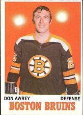 Topps Boston Bruins Original Single Hockey Trading Cards