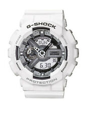 Weiße Casio Armbanduhren mit Chronograph